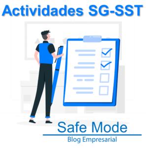 actividades del SGSST