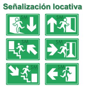 señalización locativa