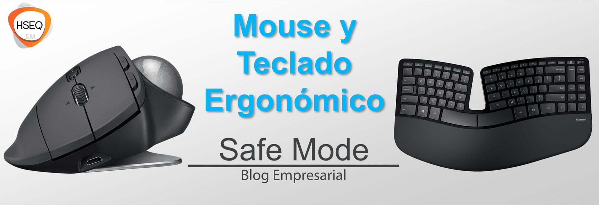 elegir mouse y teclado ergonómico