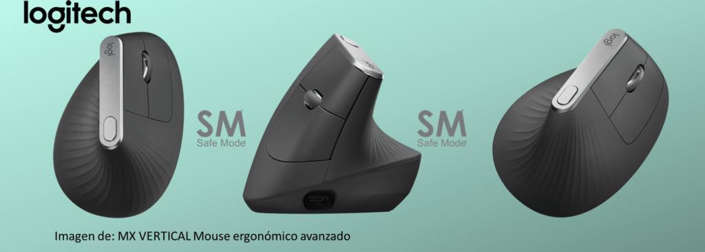 ejemplo de mouse ergonomico