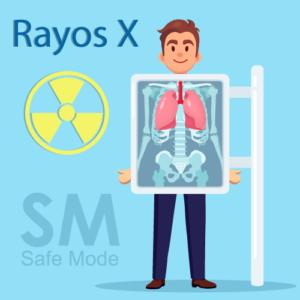 Los rayos x son socivos para la salud
