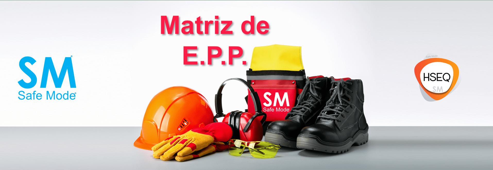 Todo sobre la matriz de EPP