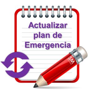 Actualización de plan de emergencia
