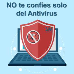 los antivirus no son suficiente