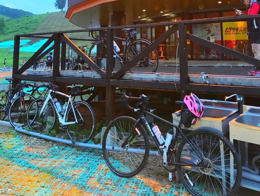 自転車とスノーボードの接点