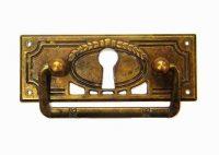 Möbelhandtag med nyckelhål