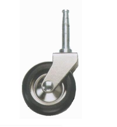 Hjul svart och metall