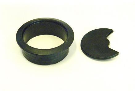 Kabelgenomföring svart