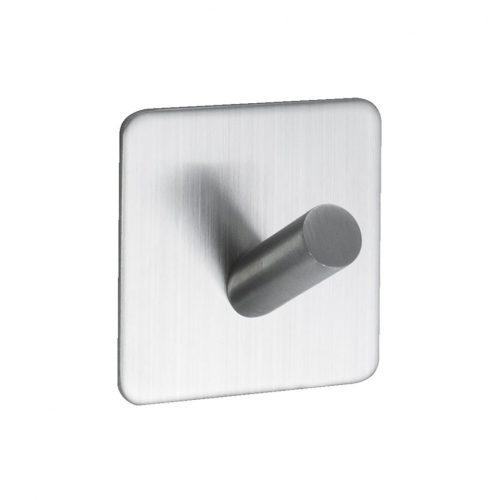 enkelkrok självhäftande för badrum rostfri