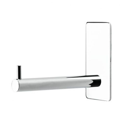 reservpappershållare krom blank silver för badrum självhäftande
