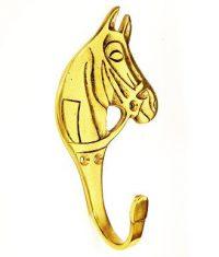 Mässingskrok häst