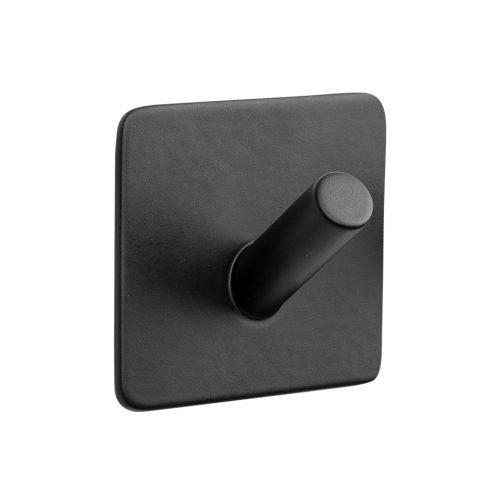 enkelkrok självhäftande mattsvart svart