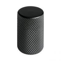 knopp svart graf knottrig för kök luckor lådor skåp köksknopp