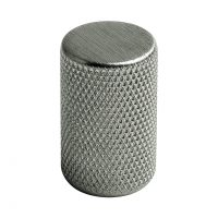 knopp matt nickel graf knottrig för kök luckor lådor skåp köksknopp