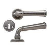 dörrhandtag hampton tennoxid beslagdesign antikt grått stort innerdörr
