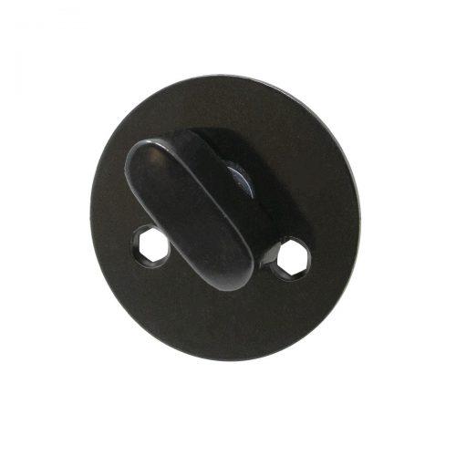 toalettvred svart för innerdörr toalettdörr toalettlås