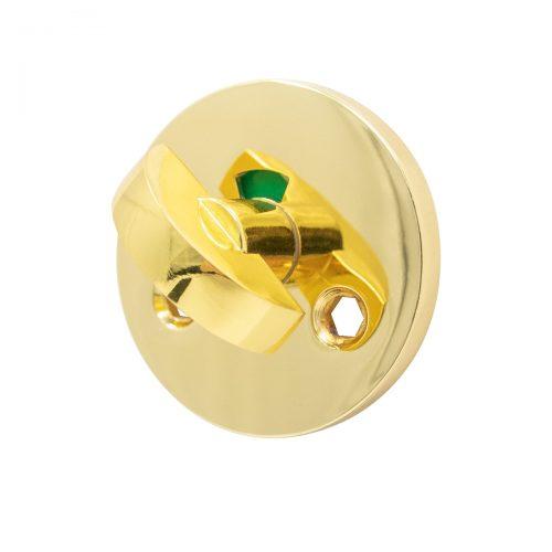 toalettvred wc-vred blank mässing för toalettdörr innerdörr guldig guld