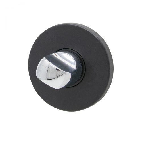 toalettvred wc-vred krom matt svart tvåfärgad modern lyxigt