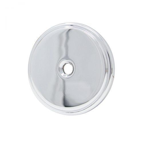 täckskylt krom täckbricka blank silver metall för innerdörr för dörrhål frästa hål hornbach dörr bauhaus