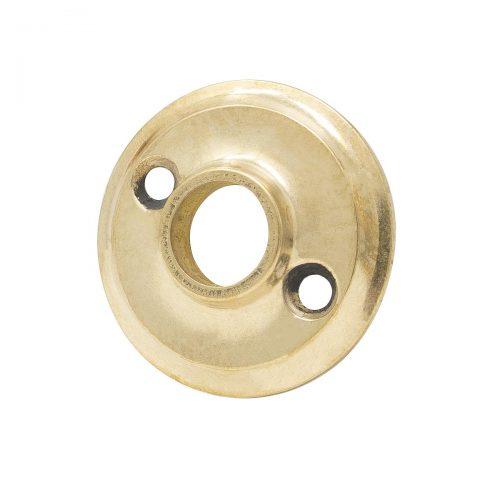 rosett till dörrhandtag matt mässing antik guldig guld gulmetall passar gammalt handtag dörrhandtag