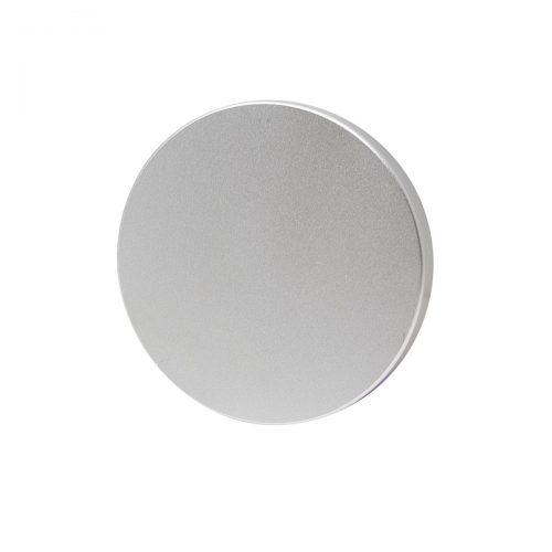täckskylt matt aluminium silver mattkrom