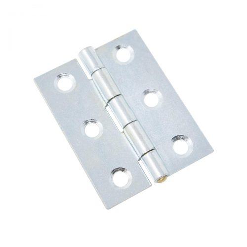 ledgångjärn 65 x 16 mm zink silver metall för skåp dörrar luckor lådor möbler