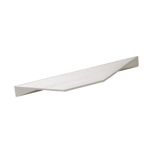 handtag cutt matt nickel beslagdesign 96mm cc 128mm cc för luckor köksluckor skåp