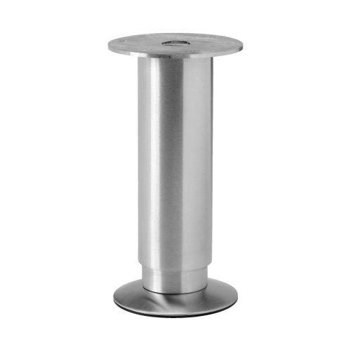 justerbart ben rostfritt stål stödben