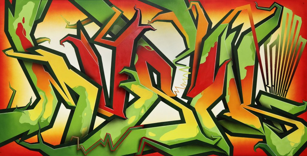 Sponk Graffiti Design Gelsenkirchen