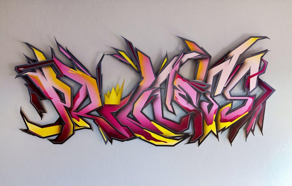 Sponk Graffiti Design Gelsenkirchen Vivid Liquids