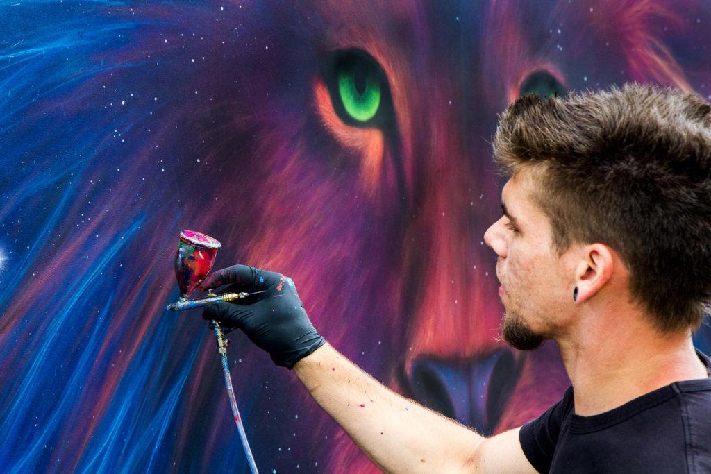Über Sponk Sponk Graffiti Design Gelsenkirchen Vivid Liquids