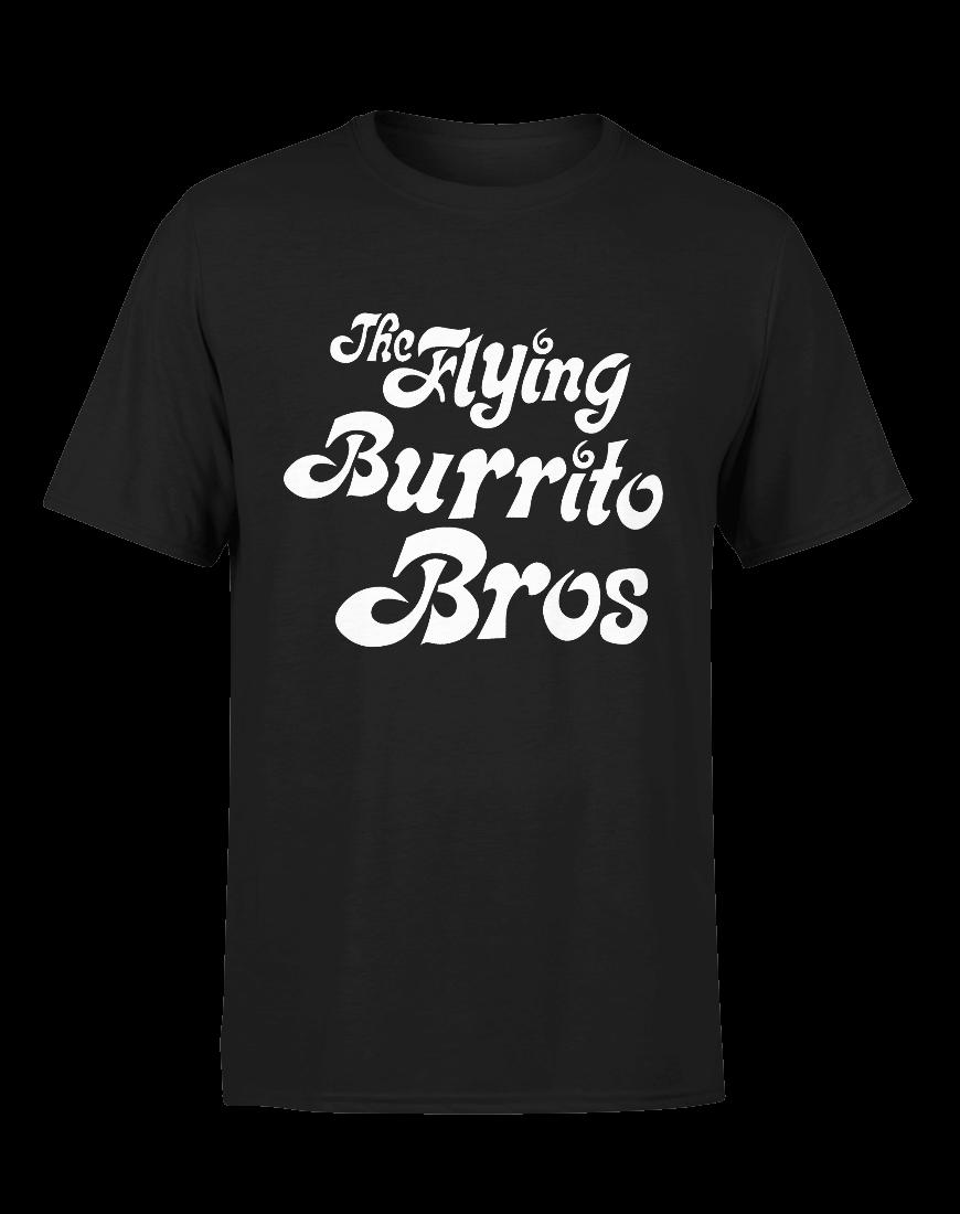 Gram Parsons T-Shirt Mens Flying Burrito Bros Tee worn by Gram Parsons