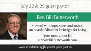 Bill Butterworth Stonebriar Community Church