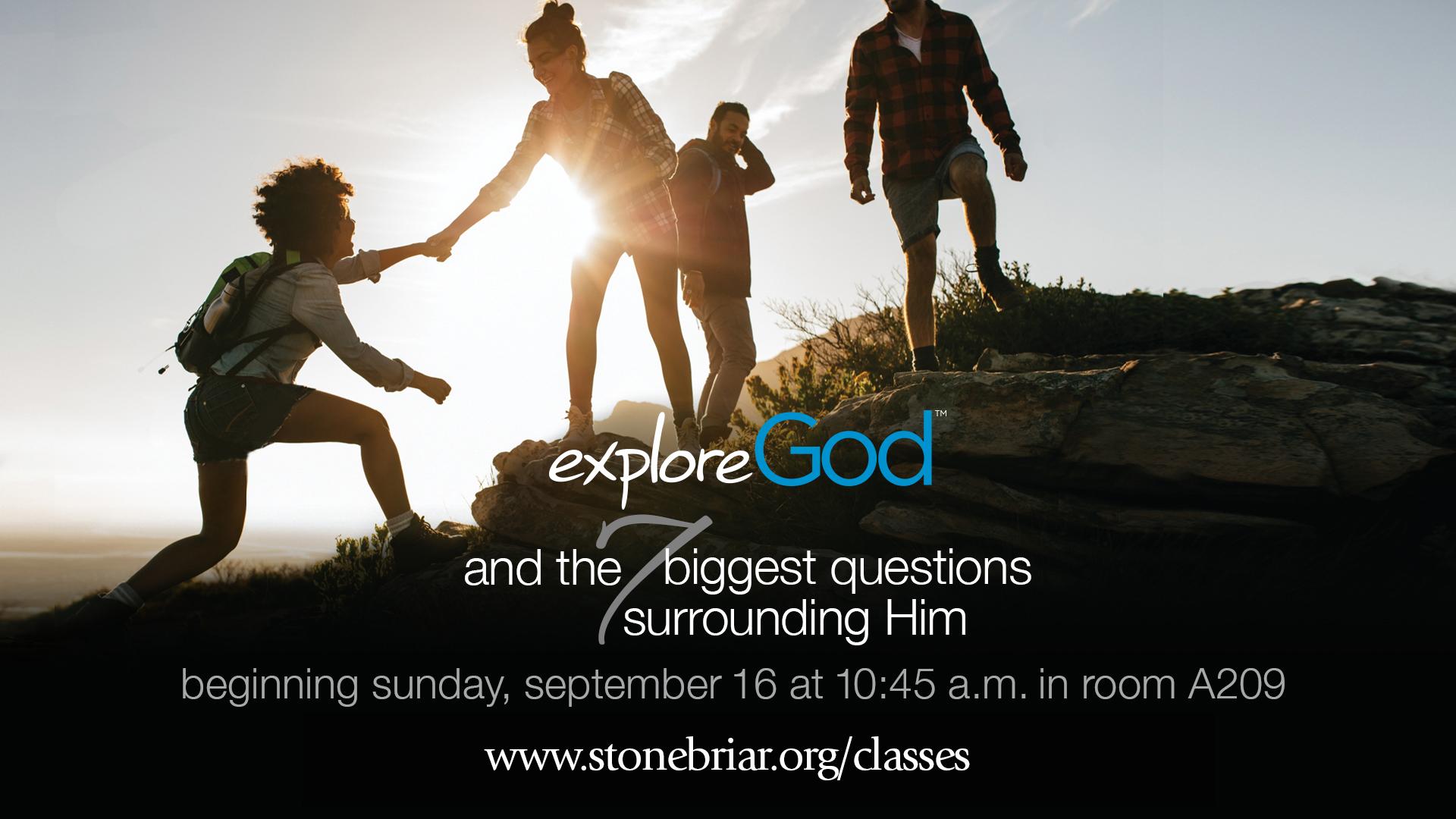 Explore God Frisco Texas Stonebriar Community Church