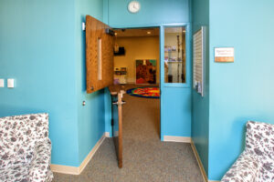Special Needs entrance to play room