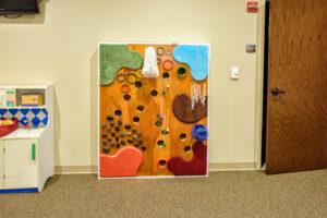Special Needs sensory wall