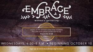 Embrace Women's Gathering Stonebriar Community Church