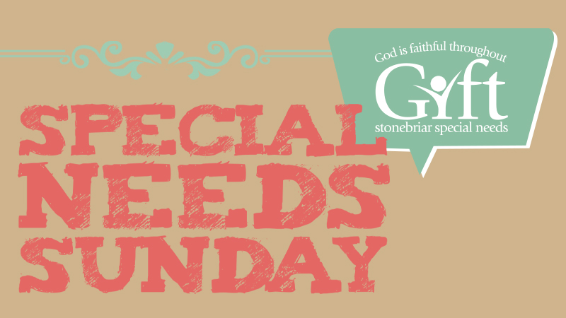 Special Needs Sunday