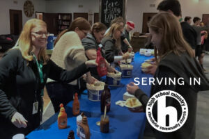 Serve in the High School Ministry