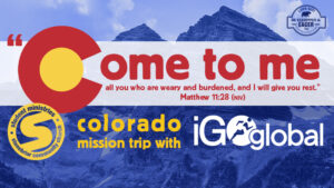 Students Mission Trip to Colorado