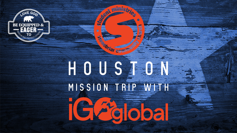 Student Ministries Houston Mission Trip