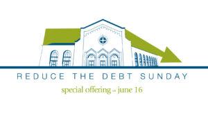 Reduce the Debt Sunday