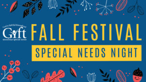fall festival: special needs night