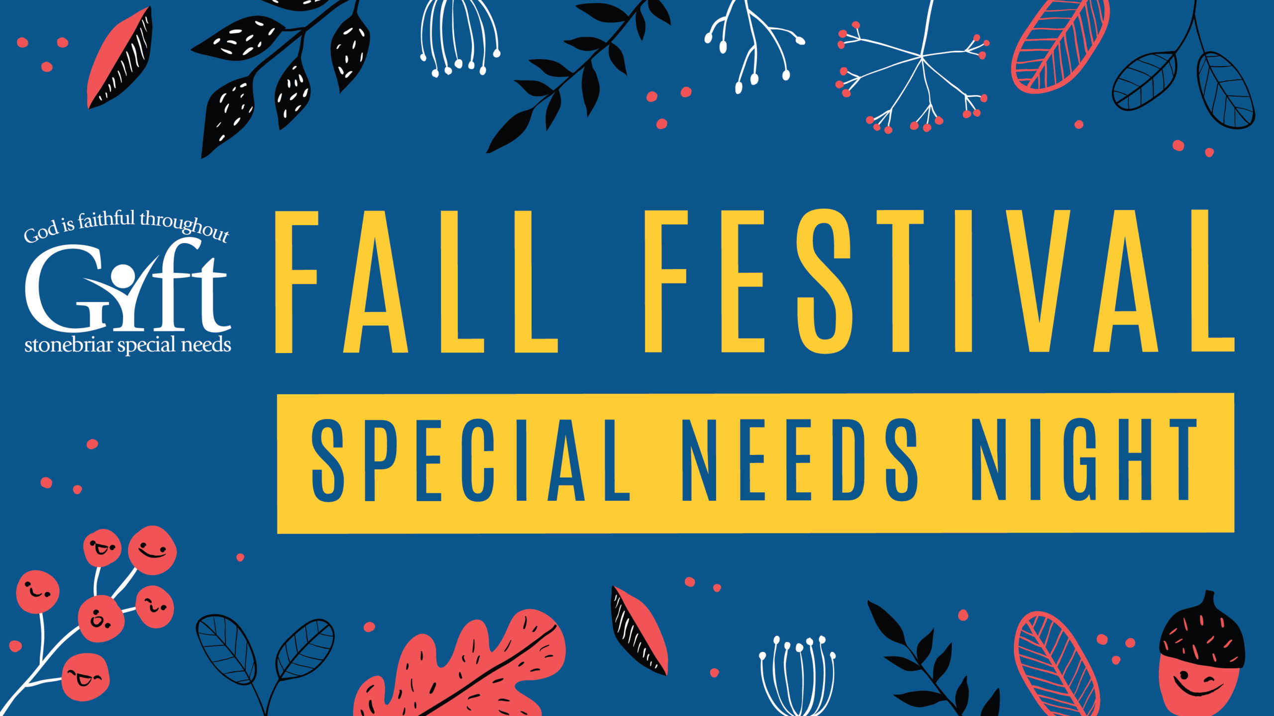 Stonebriar Community Church Special Needs Fall Festival Night