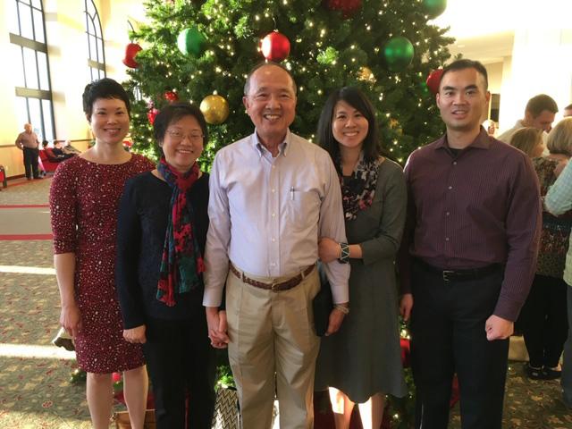 Yi Family at Christmas
