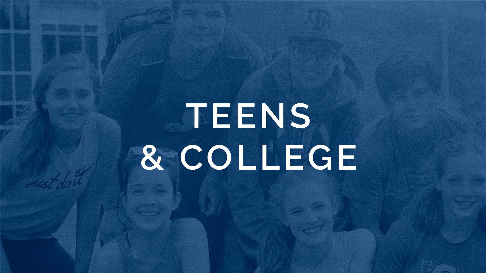 Teens & College