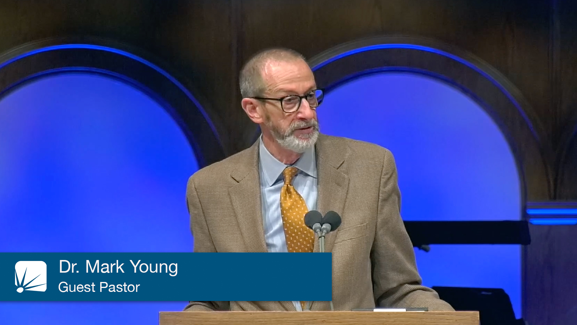 Dr. Mark Young, Guest Pastor