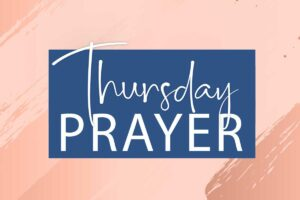 Thursday Prayer