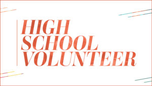 High School Volunteer
