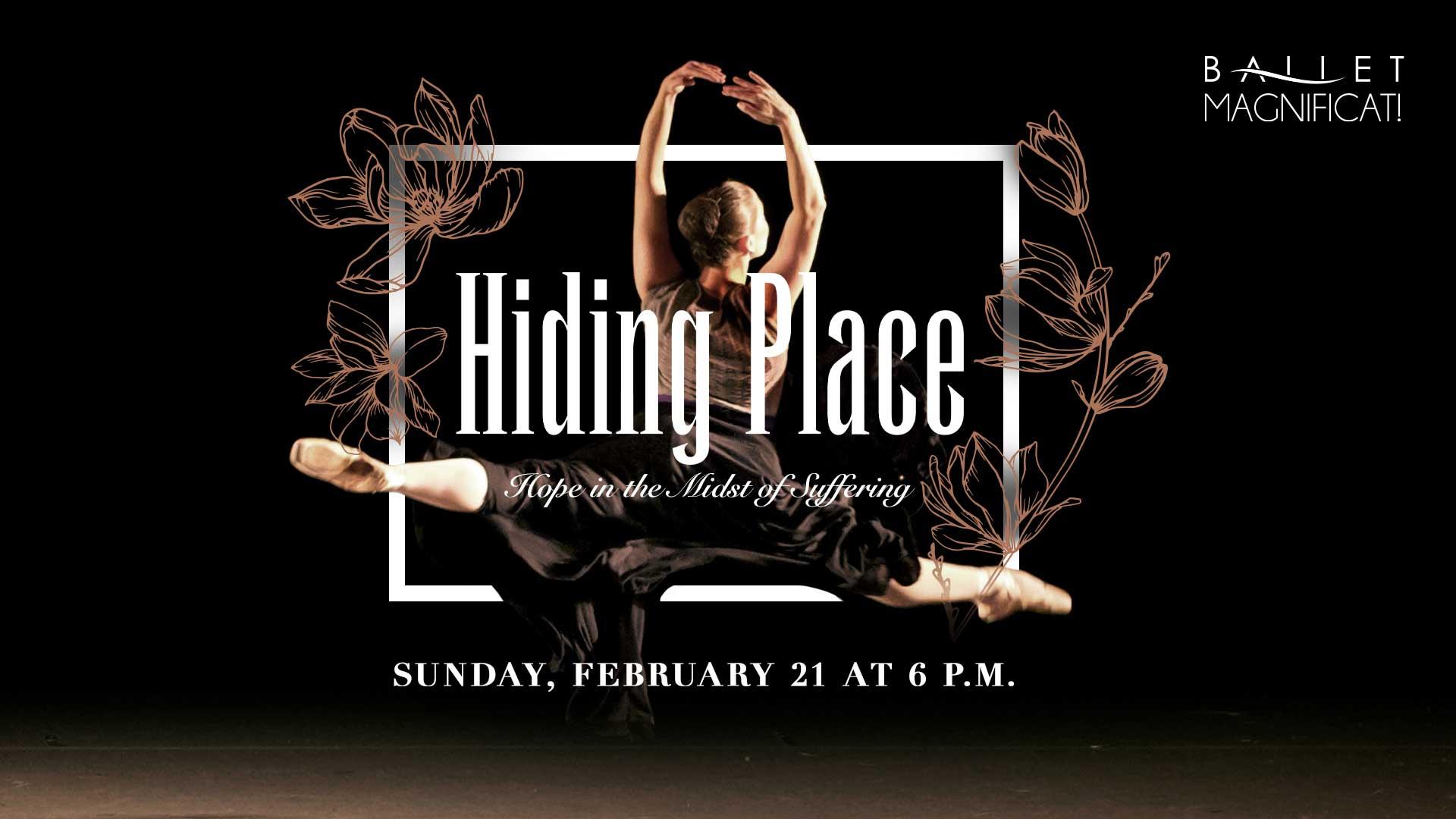 """Ballet Magnificat! performs """"Hiding Place"""""""